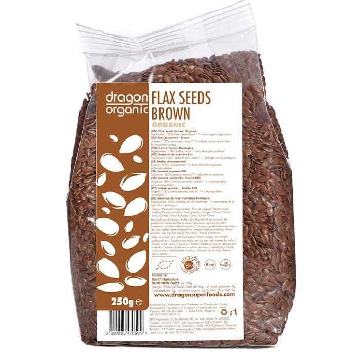 Flax seeds brown- ladybio organic food lebanon