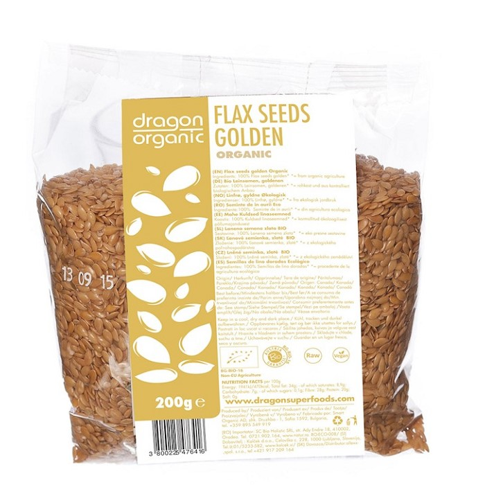 Flax seeds golden- ladybio organic food lebanon