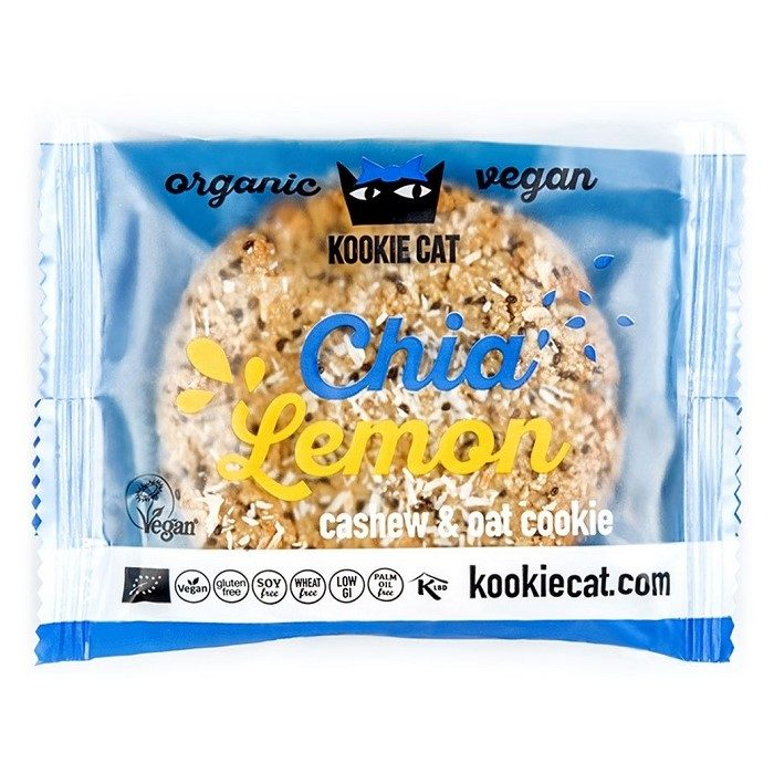 Gluten Free Cookie Chia Lemon-ladybio organic food lebanon