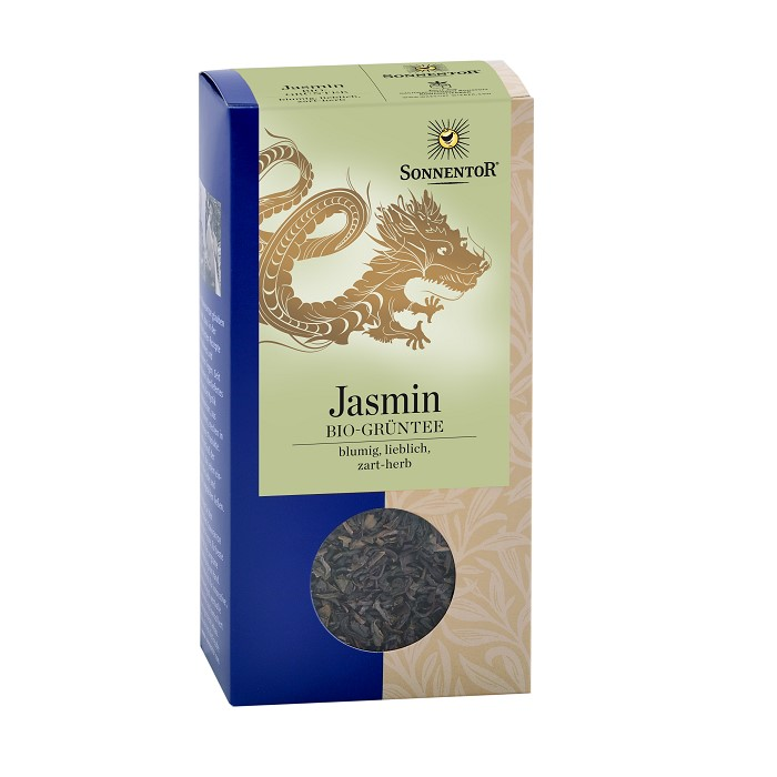 Jasmin Green tea-ladybio organic food lebanon