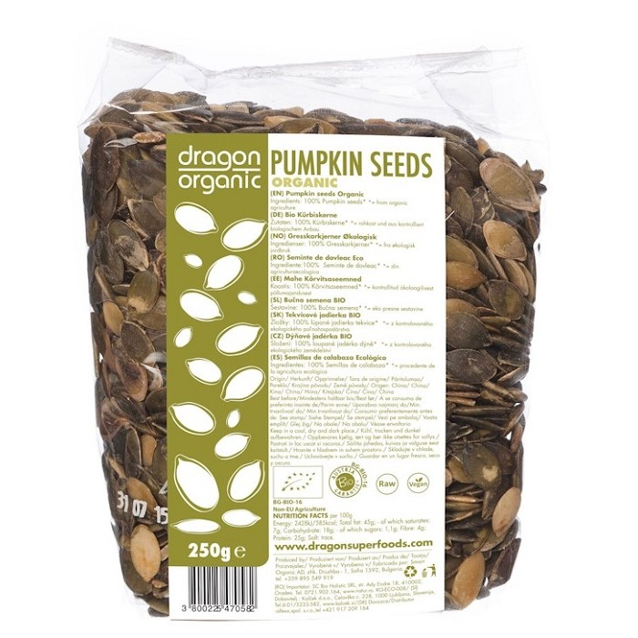 Pumpkin seeds-ladybio organic food lebanon