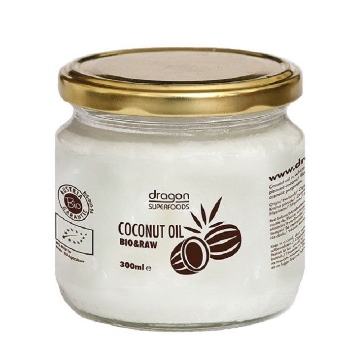 Raw Coconut oil 300ml-ladybio organic food lebanon