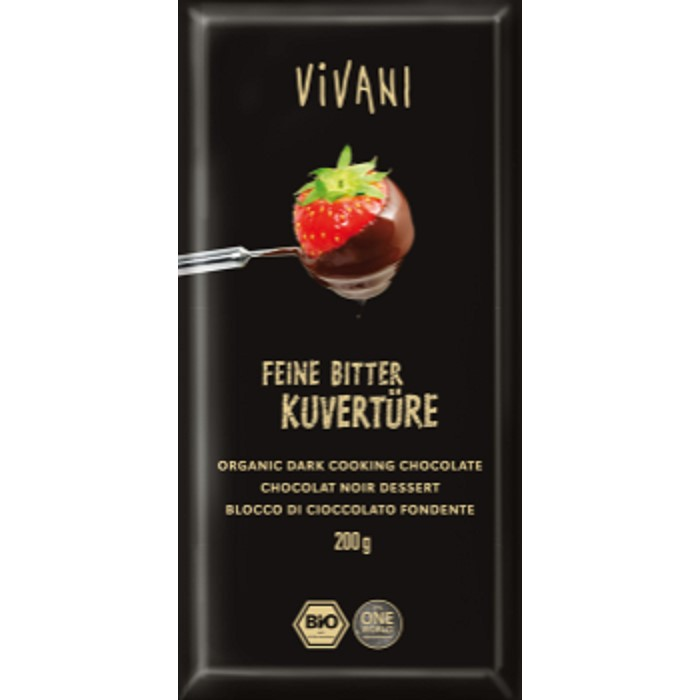 Vivani dark cooking chocolate - ladybio organic food lebanon