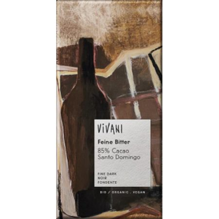 Vivani smooth dark chocolate - ladybio organic food lebanon