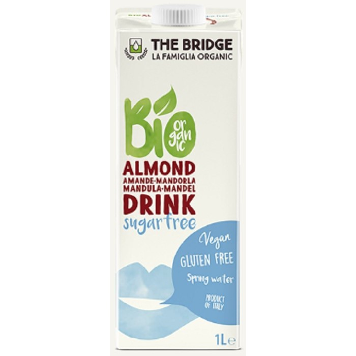 Almond Drink sugarfree - ladybio organic food lebanon